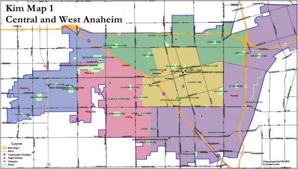 Anaheim Maps - Kim