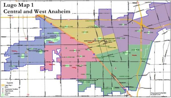 Anaheim Maps - Lugo