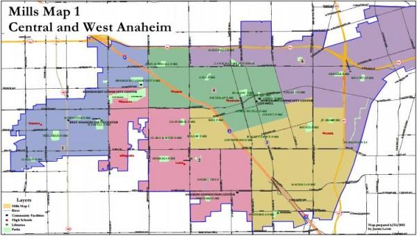 Anaheim Maps - Mills 1