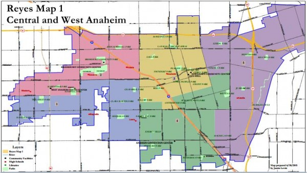 Anaheim Maps - Reyes 1