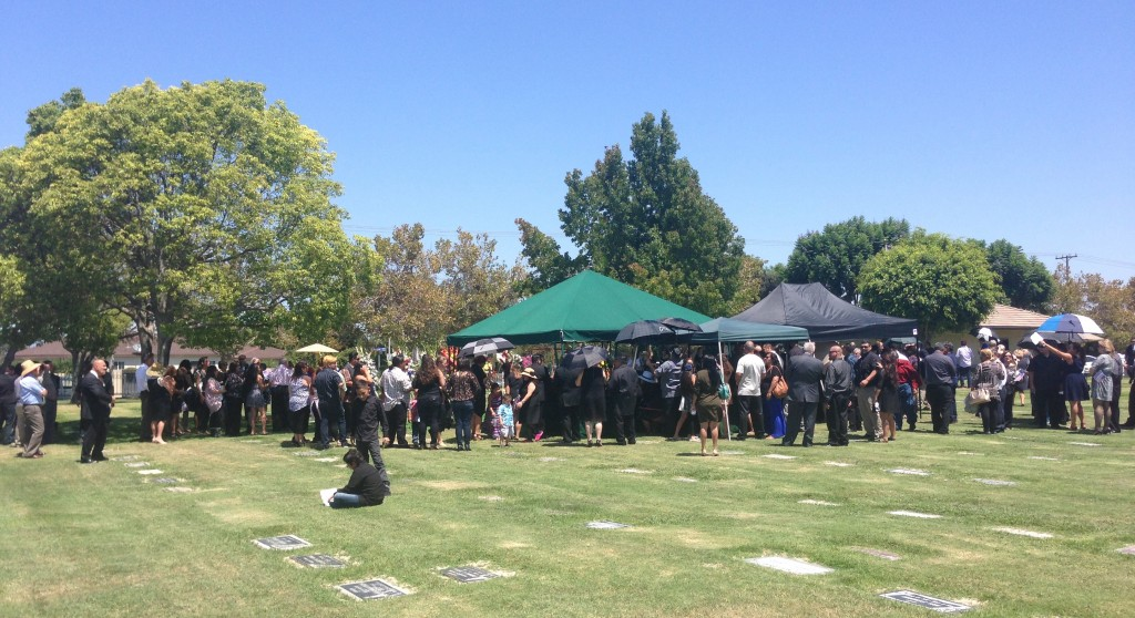 After Hoagy's Graveside Service ended