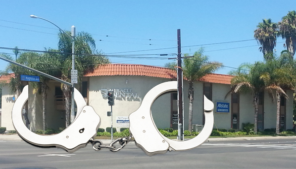 Orange County's monument to (attempted) asset forfeiture, Tony Jalali's (saved) $1.5 million Anaheim office building.