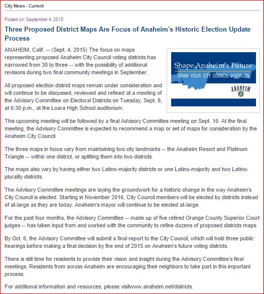 Anaheim Website 5 - 'Three Maps' Story