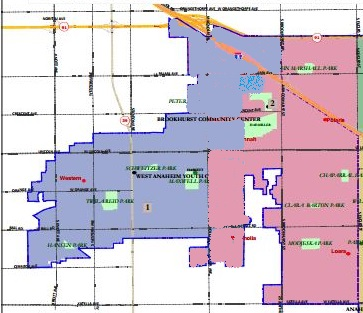 Chuchua maps - West Side revision proposed for Sept