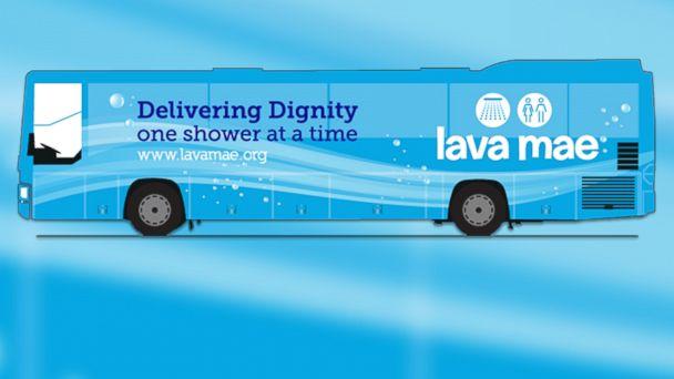 Homeless Mobile Showers Bus