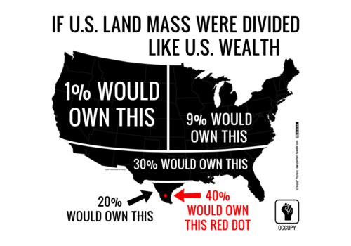 Income Inequality Map