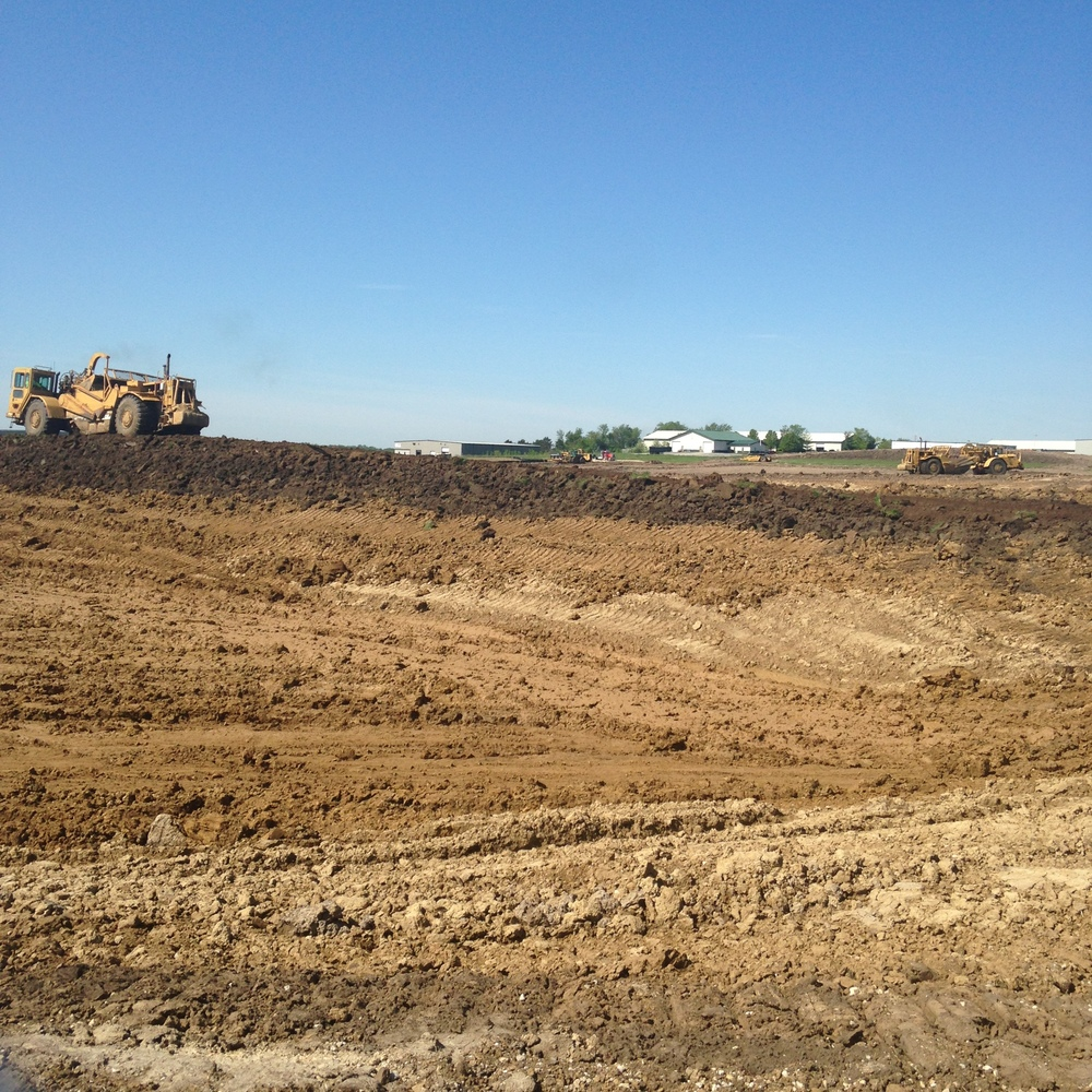 dirt fields