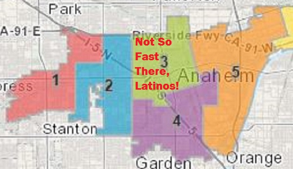 Guess which Anaheim flatlands district won't get to vote on its representative in 2016?