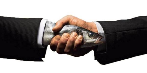Fish Handshake