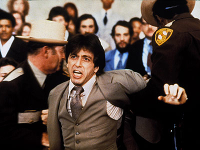 Now THAT was a good flick.  Maybe the only lawyer other than me to wear a brown suit.
