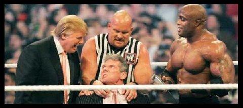 Trump in Wrestling Ring