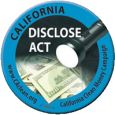 . . . Two years ago, last time the California DISCLOSE Act was working its way through the state legislature, and was stymied in the Senate by all Republicans including […]