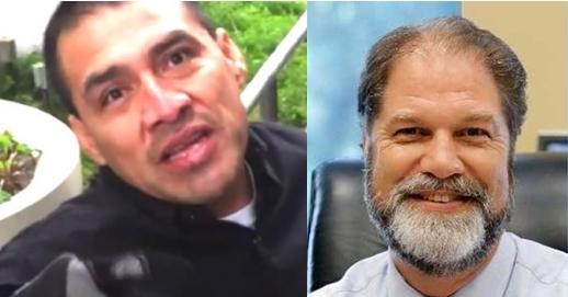 "Deported ""professional plaintiff"" Alfredo Garcia, state senator John Moorlach."