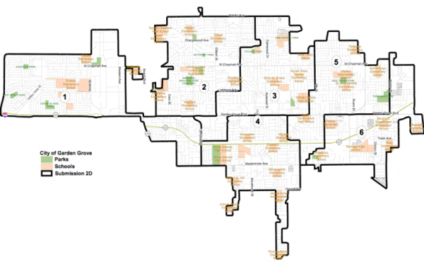 Proposed Garden Grove City Council Districts
