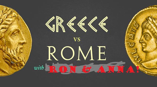greece vs rome