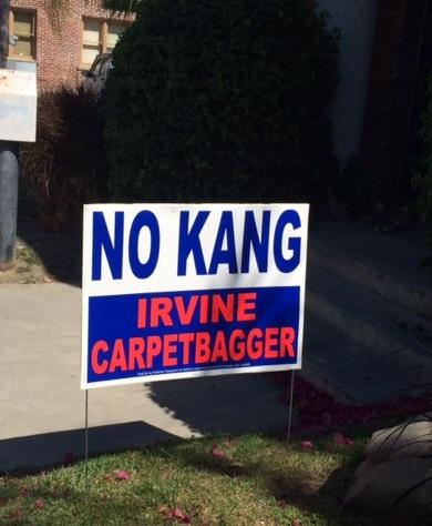 kang carpetbagger sign