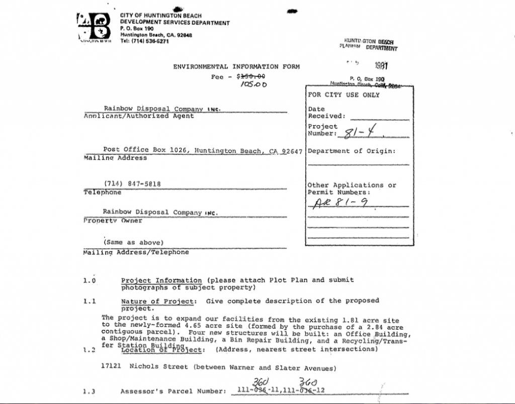 1981 permit page 1