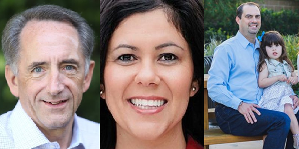 Joe Dunn for Congress, Michele Martinez for Supervisor, Michael Parham for OCBOE 3