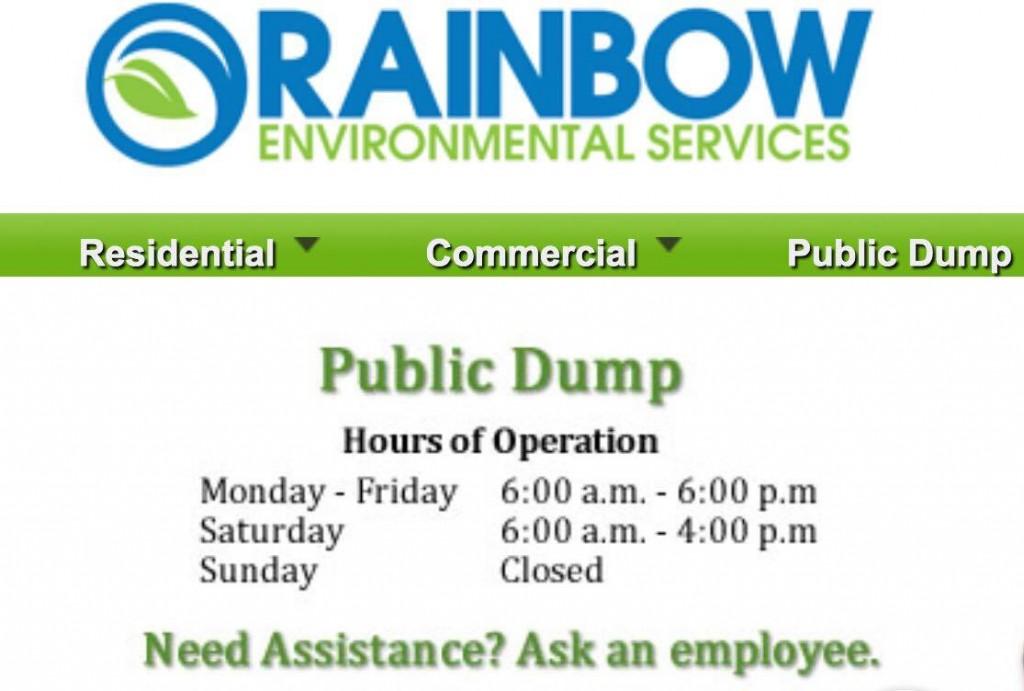 rainbow dump