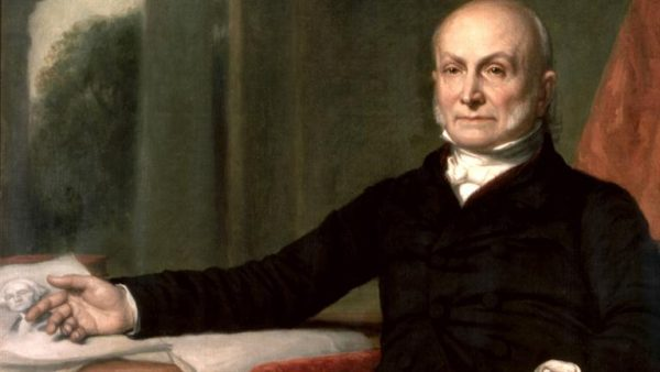 John Quincy Adams was elected by virtue of the Twelfth Amendment in 1824 -- leading Andrew Jackson to hulk out and win the office four years later. Yes, this will be on the test.