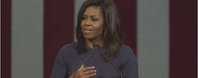 . . . I'm not going to ask you to listen to Michelle Obama's entire speech yesterday in New Hampshire. You can skip the intro and start at 2:20. And […]