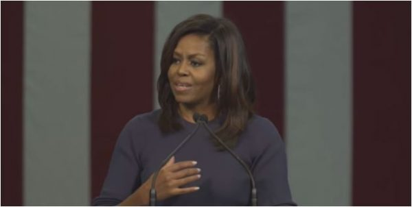 Michelle Obama gives the speech that the vast majority of women, regardless of party, have been waiting for.