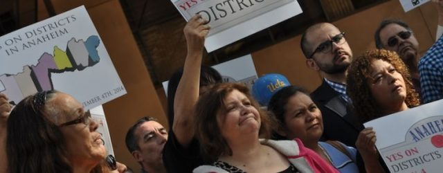 . . . Anaheim's historical first district election has become not so much a process to remedy theinadequatepresenceof Hispanics in the local government, and to offer better representation of allneighborhoods, […]