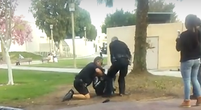 """. . . Fullerton has gotten a well-deserved reputation for police brutality over the past ten years, and it seems as if now even the """"safety"""" personnel at FJC are […]"""