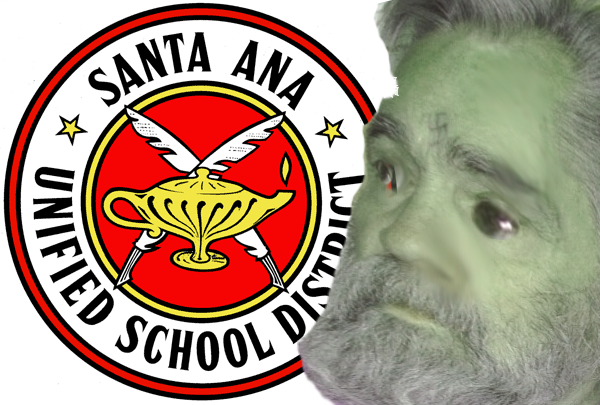 Reports of SAUSD hiring Zombie Charles Manson are as yet unconfirmed -- but the OTHER rumor out there makes no sense at all!