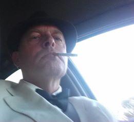 vern smoking in hoopdie