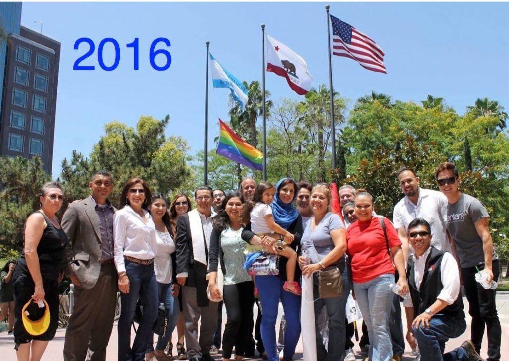Complex Anaheim, May 2017 Edition: Wincome Furniture, Rainbow Flagblocking. : Orange Juice Blog