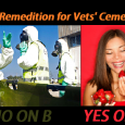Yes on B!  Or no Vets Cemetery.
