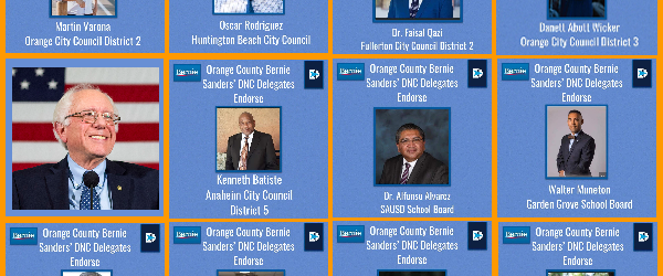 . . . Adapted (into a stunningly beautiful array) from a Facebook announcement by (OJB-endorsed!) OC Bernie DNC convention Delegate Sudi Farokhnia, who is quoted below: During the past two […]