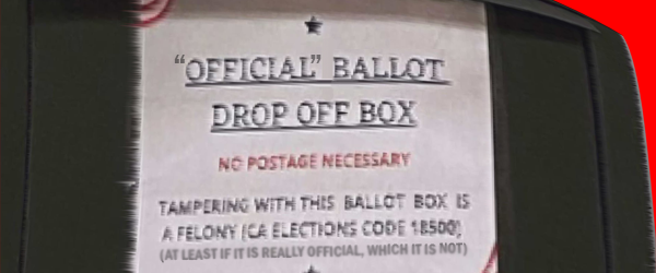 """John Earl had a good idea on Facebook, in light of the unfolding unofficial """"Official"""" Republican Ballot Drop Box saga, to link to the OC Registrar of Voters' Page with […]"""