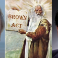 They won't answer us.  They say the Brown Act prevents them.  But does it really?